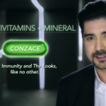 Ian Veneracion for Conzace Multivitamins