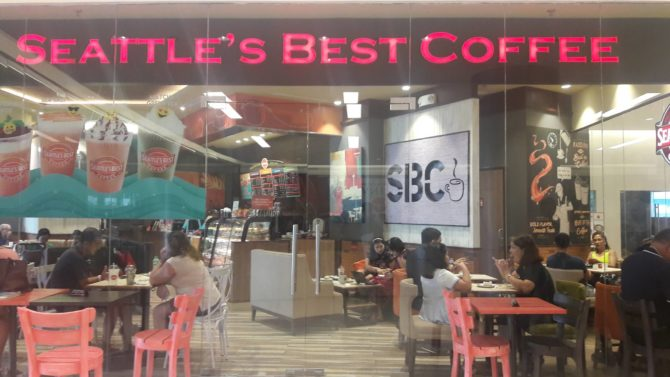 seattle's best coffee festival mall