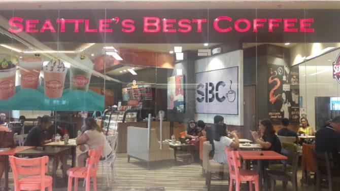 seattle's best coffee festival mall