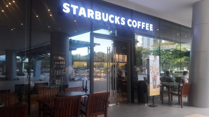 starbucks coffee festival mall alabang