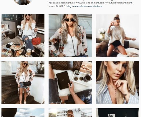 Top 5 Fashion Bloggers on Instagram to Follow in 2017