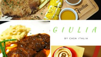Giulia by Casa Italia: Home-cooked food to a whole new level