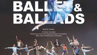 Ballet Manila presents Ballet and Ballads featuring Christian Bautista