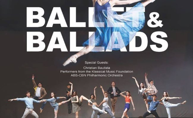 Ballet Manila presents Ballet and Ballads featuring Christian Bautista