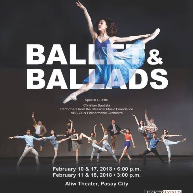 Ballet&Ballads ballet manila
