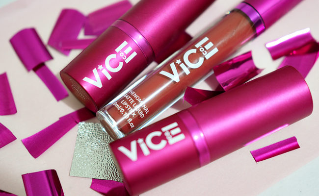 Let's see if Vice Cosmetics lipsticks are worth the hype