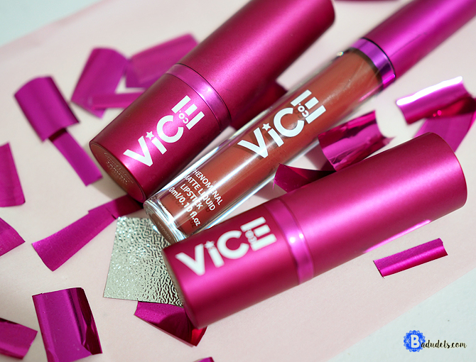 vice cosmetics lipsticks review