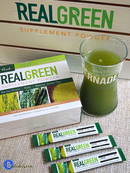 real green supplement powder