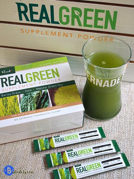 real green supplement powder