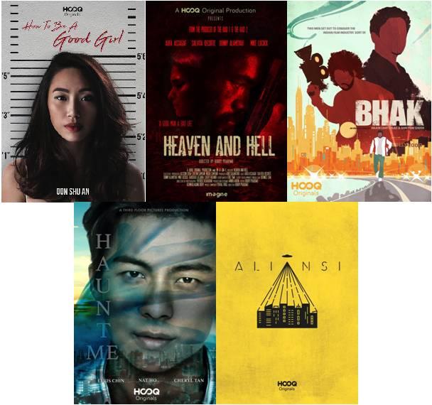 HOOQ Filmmakers winners