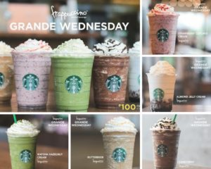 starbucks philippines grande wednesday