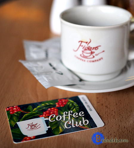 figaro coffee club card