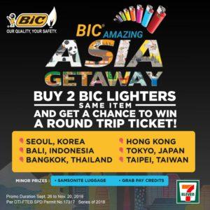 bic amazing asia getaway