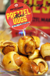 pretzel dogs from pretzelmaker