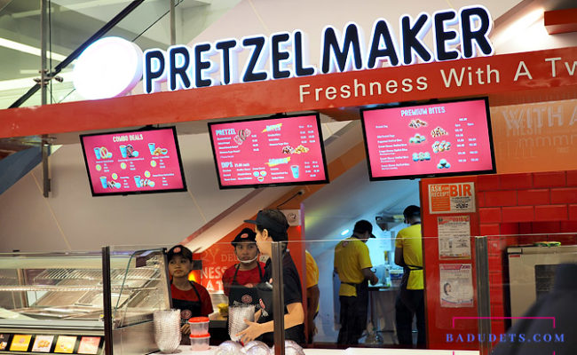 Pretzelmaker: Now rolling in Festival Mall, Alabang