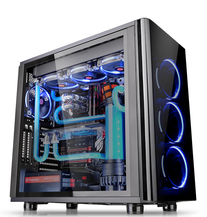 Thermaltake View 31 Tempered Glass Edition Mid Tower Chassis