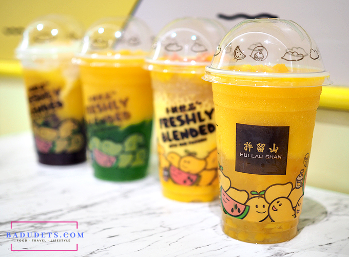 hui lau shan mango drinks