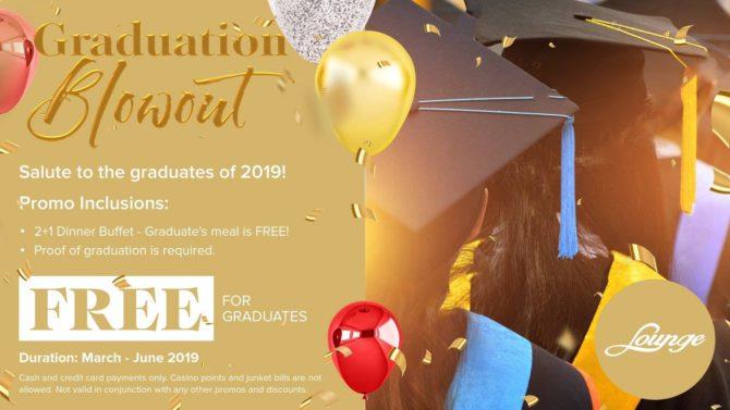 Graduation Blowout royce hotel