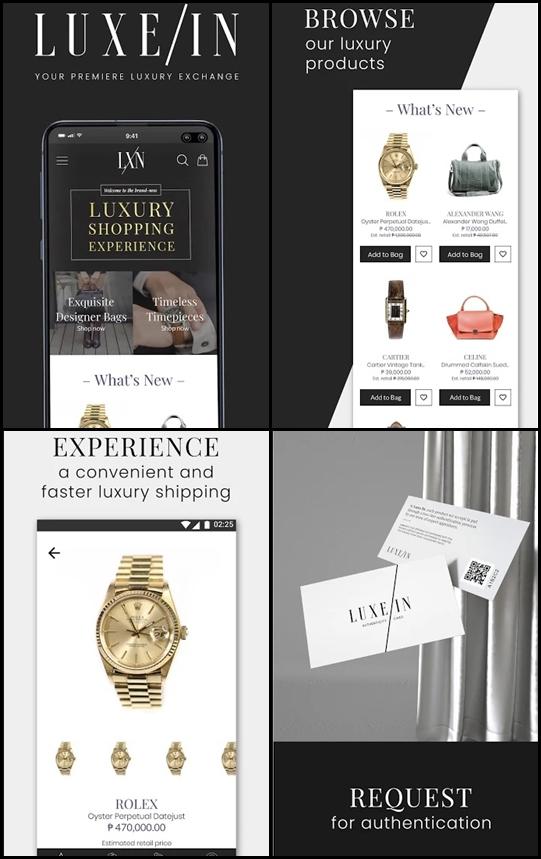 luxe in app
