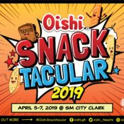 Oishi Snacktacular 2019 is coming to SM Clark, Pampanga!