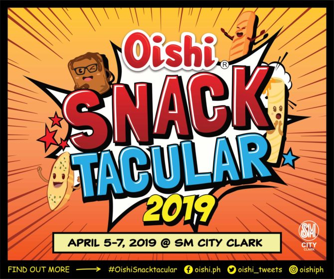 oishi snacktacular 2019 pampanga