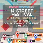 Enjoy all things Korean at BGC's K-Street Festival!