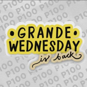 starbucks grande wednesday 2019