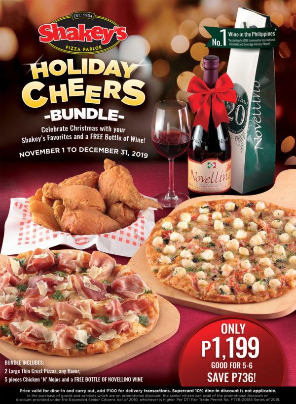 shakeys Holiday Cheers Bundle