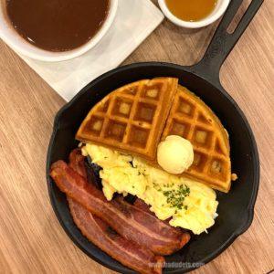 Belgian Waffle, Waffle n' Bacon Skillet