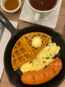 Waffle n' Sausage Skillet
