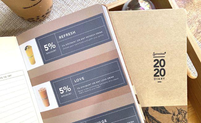 Planner Spotlight: Serenitea 2020 Diary + Serenitea Holiday Drinks