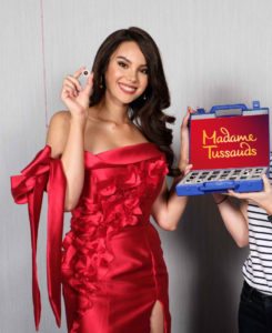 catriona gray wax figure