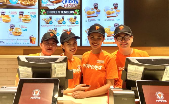 Popeyes is now poppin' at SM Southmall