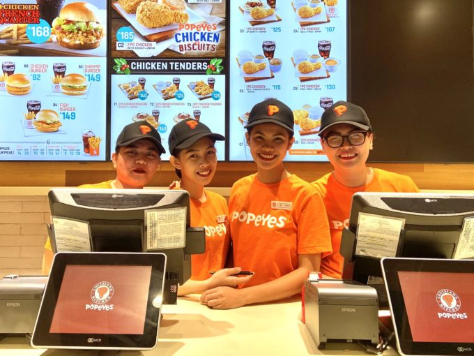 popeyes sm southmall