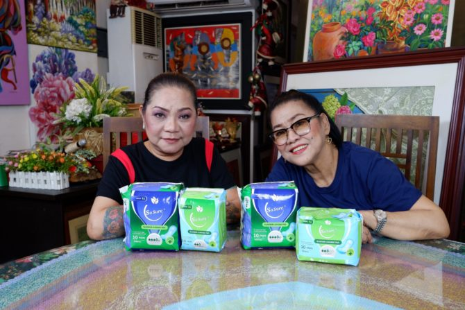 Cristy Fermin & Lolit Solis So Sure Bladder Leakage Pad