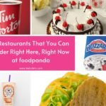 5 Restaurants That You Can Order Right Here and Right Now at foodpanda