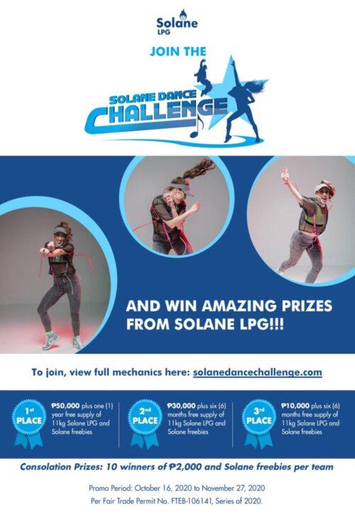 solane dance challenge prizes