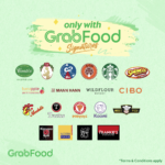 Amazing Value, Exciting Selection only with GrabFood Signatures