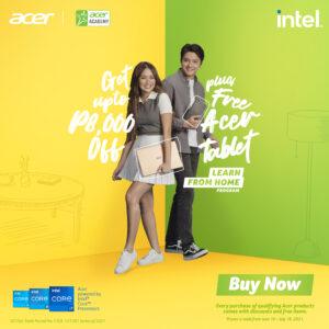 Acer Learn from Home Program_KathNiel
