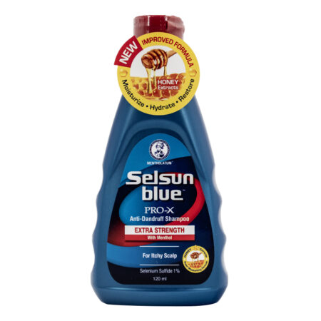 Selsun Blue Pro-X Anti-Dandruff Shampoo Extra Strength with Menthol