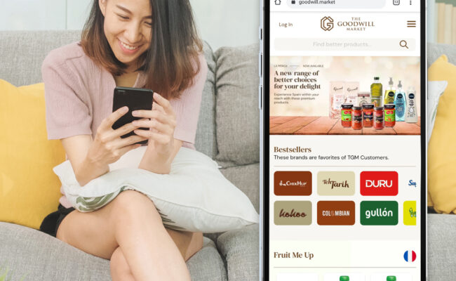 The Goodwill Market an advocate in helping Filipinos make healthier choices through E-Commerce