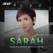 Sarah Geronimo is the newest Acer celebrity ambassador
